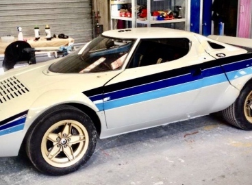 Peinture D'origine Lancia Stratos - FRENCH KHUSTOM by Art Mattwell's